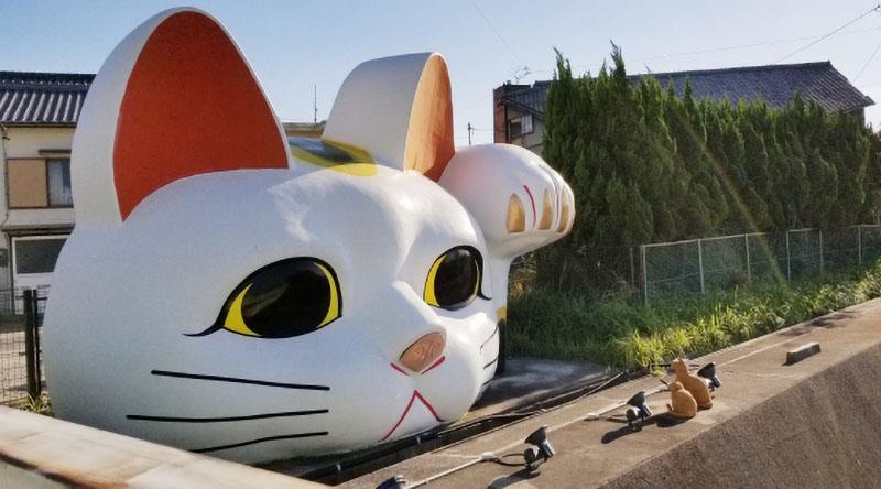愛知県常滑市 招き猫
